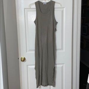 Maxi tank top dress